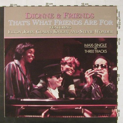 Warwick,Dionne & Friends: That's What Friends Are For*2+1, Arista(602 119-213), D, 85 - 12inch - C2628 - 2,50 Euro
