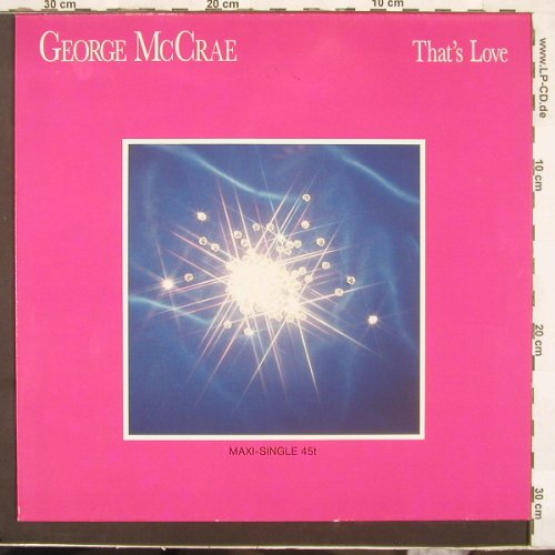 Mc Crae,George: That's Love*2+1, Ariola(609 499), D, 87 - 12inch - C2655 - 2,50 Euro