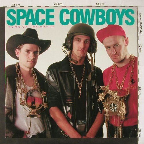 Space Cowboys: Home On The Range, Vielklang/EfA(04031-08), D, 1990 - LP - C3021 - 5,00 Euro