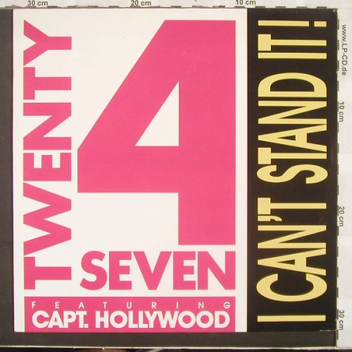 Twenty 4 Seven: I Can't Stand It*2, BCM(12395), D,  - 12inch - C3077 - 3,00 Euro