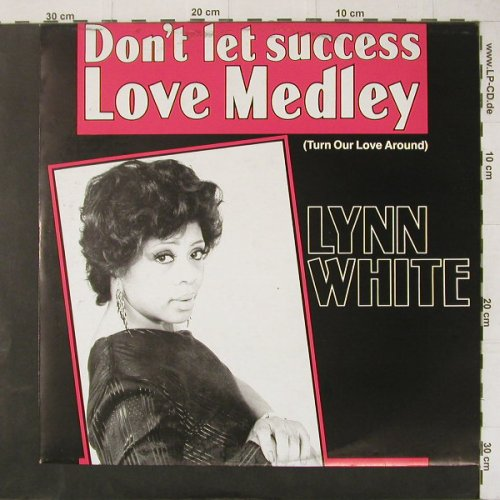 White,Lynn: Don't Let Success+1, Stripped Horse(6.20755 AE), D, 1987 - 12inch - C4472 - 3,00 Euro