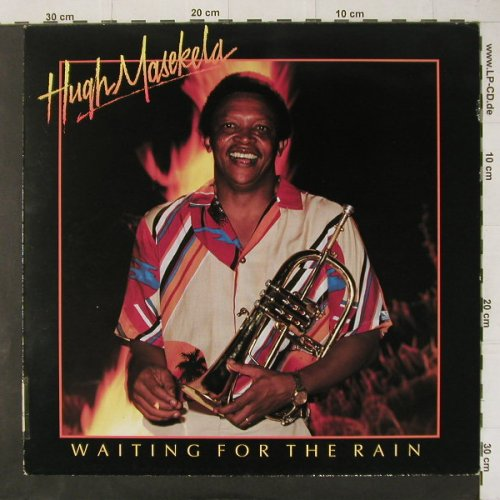 Masekela,Hugh: Waiting For The Rain, Jive-Afrika(6.26155 AP), D, 1985 - LP - C4515 - 5,50 Euro