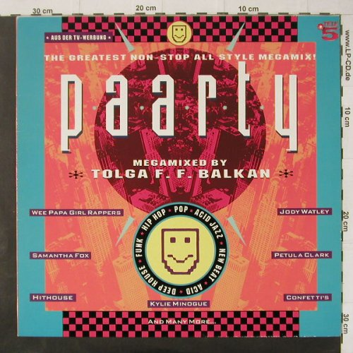 V.A.Paarty: 14 Tr., Teldec(244 992-1 AW), D, 1989 - LP - C4569 - 5,00 Euro