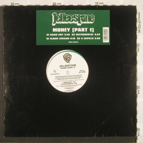 Jelleestone: Money(Part 1)*4,LC,green Vinyl, WB(9362 42425-0), US, 01 - 12inch - C549 - 4,00 Euro