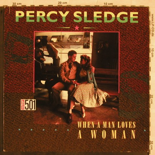 Sledge,Percy: When A Man Loves A Woman+2, WEA(786 746-0), D, 1987 - 12inch - C5669 - 2,50 Euro