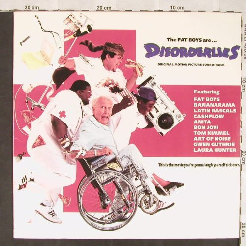 Fat Boys: Disorderlies Soundtrack, Polydor(833 274-1), US, 1987 - LP - C5887 - 6,00 Euro