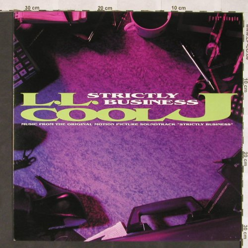 L.L.Cool J: Strictly Business*4, Uptown(12-54246), US, 1991 - 12inch - C5897 - 5,00 Euro