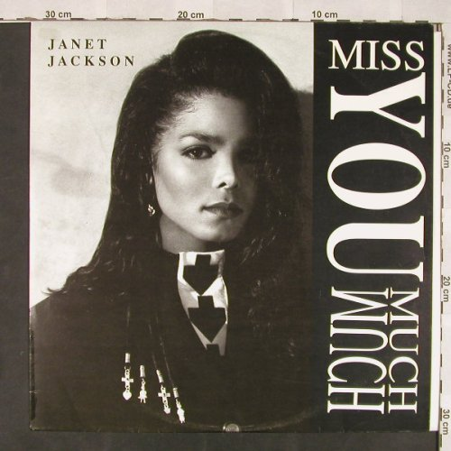 Jackson,Janet: Miss You Much*3+1, AM(390 445-1), D, 1989 - 12inch - C5920 - 3,00 Euro