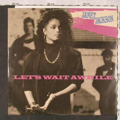 Jackson,Janet: Let's Wait Awhile+2, AM(392 167-1), D, 1987 - 12inch - C5926 - 4,00 Euro