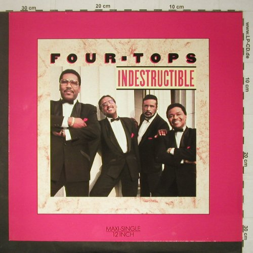 Four Tops: Indestructable,ext,dub,Are Y.WithMe, Arista(611 510), D, 1988 - 12inch - C6079 - 1,50 Euro