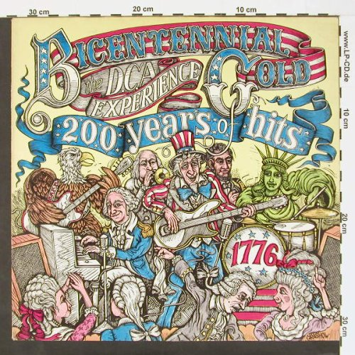 DCA Experience: Bicentennial Gold, PrivateSt.(062-97 800), D, 76 - LP - C612 - 5,00 Euro