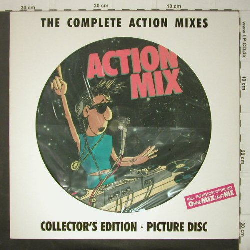 "Action Mixes: The Complete Action Mixes,pic.disc, BCM(B.C.33-2088-45), D,  - P12"" - C6157 - 5,50 Euro"
