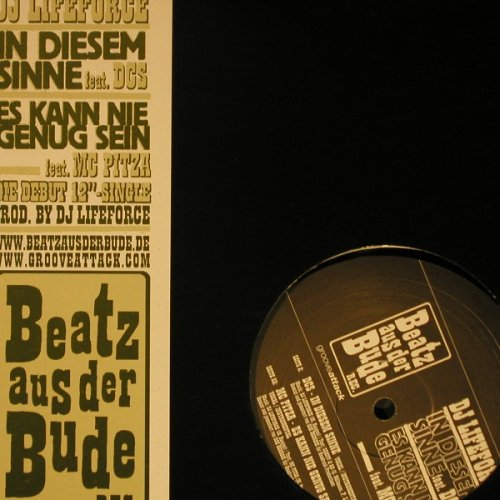 DJ Lifeforce: In Diesem Sinne+1,LC, Beatz aus der Bude(), D,  - 12inch - C6786 - 4,00 Euro