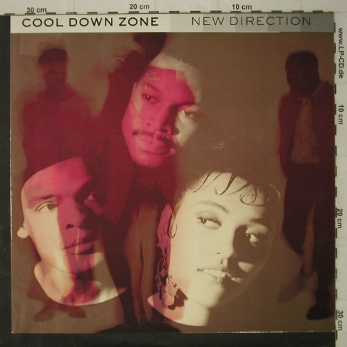 Cool Down Zone: New Direction, TEN Rec.(211 155 / DIX 8), , 1990 - LP - C7797 - 5,00 Euro