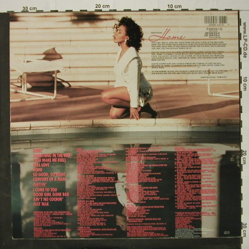 Mills,Stephanie: Home, MCA(256 315-1), D, 1989 - LP - C8348 - 4,00 Euro