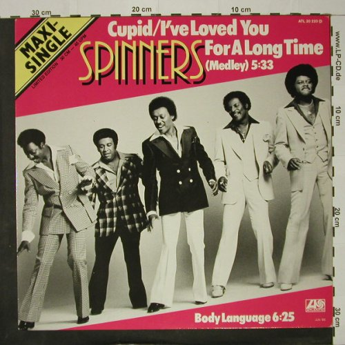 Spinners: Cupid/I've Loved You f.a.long Time, Atlantic(20 220), D (medley), 1980 - 12inch - C8475 - 4,00 Euro