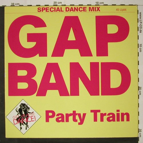 Gap Band: Party Train - sp.dance mix, Total Exp.(814 683-1), D, 1983 - 12inch - C8672 - 4,00 Euro