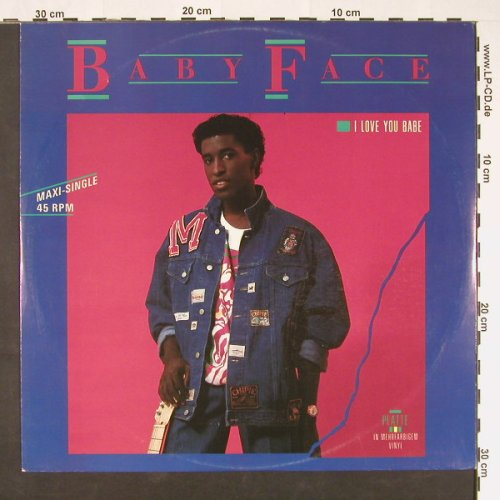 Baby Face: I Love You Babe/Lovers(brown Vinyl), Solar(INT 126.007), D, 1987 - 12inch - C9010 - 5,00 Euro