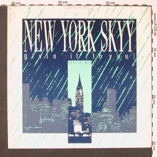 New York Skyy: Givin'it(to You) *3, m-/vg+, Capitol(12 CL 401), UK, 1986 - 12inch - C9152 - 2,50 Euro