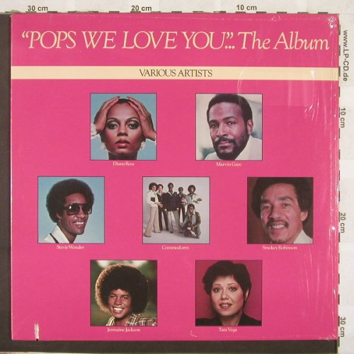 V.A.Pops We Love You...-The Album: 9 Tr., Co, Motown(M7 921R1), US, 79 - LP - C920 - 5,00 Euro