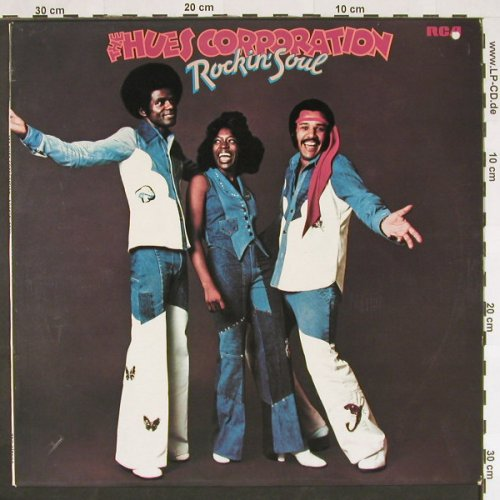 Hues Corporation,The: Rockin'Soul, co, RCA(26.21443 AO), D, 1974 - LP - C9326 - 6,00 Euro