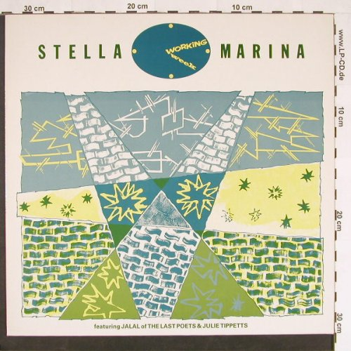Working Week: Stella Marina*2, Virgin(601 733-213), , 1985 - 12inch - C9374 - 1,50 Euro