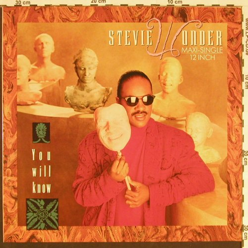 Wonder,Stevie: You Will Know*3, Motown(ZT 41724), , 1987 - 12inch - C9503 - 3,00 Euro