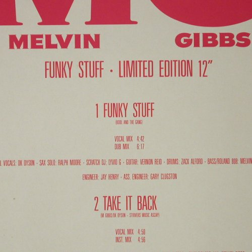 Gibbs,Melvin: Funky Stuff / Take It Back, Rhythm Attack(), D, 1987 - 12inch - C9555 - 3,00 Euro