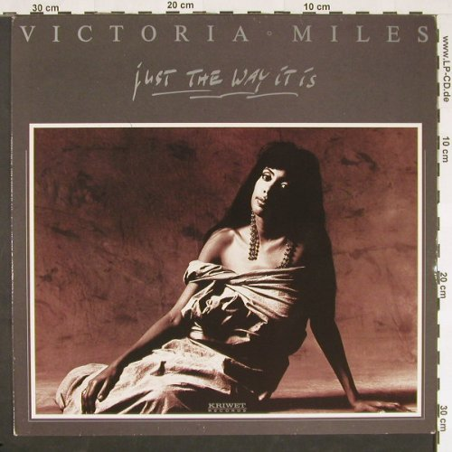 Milles,Victoria: Just The Way It Is, Kriwet(67-5501-1), D, 1990 - 12inch - C9582 - 1,50 Euro