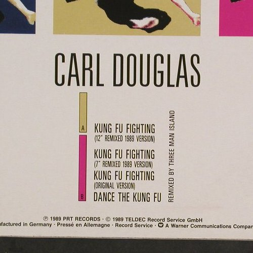 Douglas,Carl: Kung Fu Fighting(89'Remix), PRT(246 810-0), D, 1989 - 12inch - C9647 - 2,50 Euro