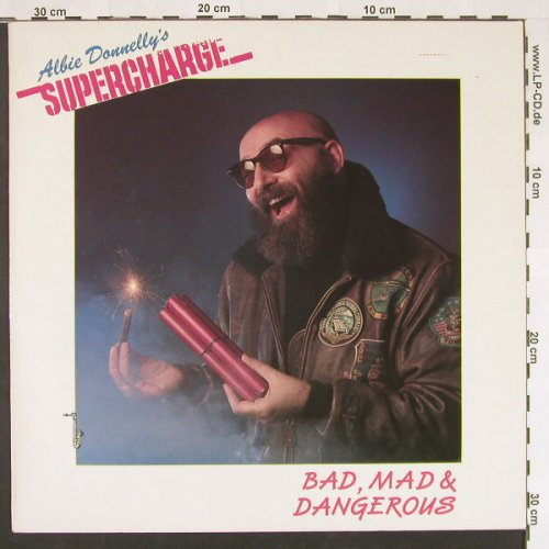 Supercharge: Bad,Mad & Dangerous, Memo Music(572 87 032), D, 1988 - LP - C9704 - 4,00 Euro