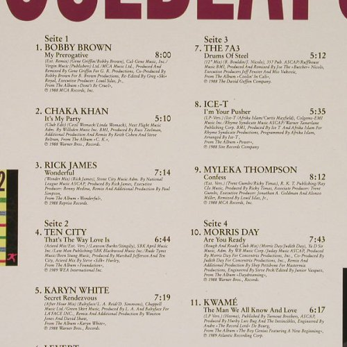 V.A.Soulbeat 5: IceT,Ten City,Levert..., WEA(241 576-1), D, 1989 - 2LP - C9762 - 7,50 Euro