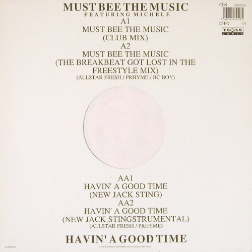 King Bee feat.Michelle: Must Bee The Music*2+2, CBS(656552 8), NL, 1990 - 12inch - C9803 - 4,00 Euro