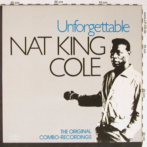 Cole,Nat King: Unforgetable-Orign.Combo-Recordings, SR(38 335 6), D,Ri,Mono, 1949 - LP - E1113 - 6,00 Euro