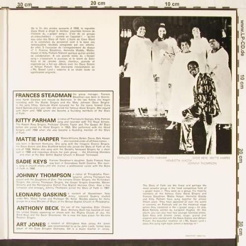 Stars of Faith of Black Nativity: Gospel Song Negro Spiritual, Festival(161), F,  - 2LP - E1228 - 9,00 Euro