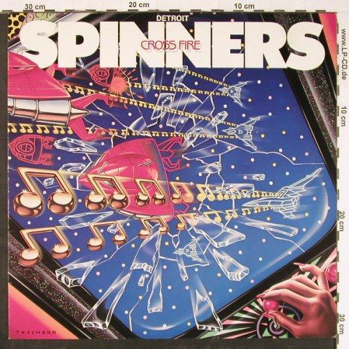 Detroit Spinners: Cross Fire, Atlantic(780 150-1), D, 1984 - LP - E1405 - 5,50 Euro