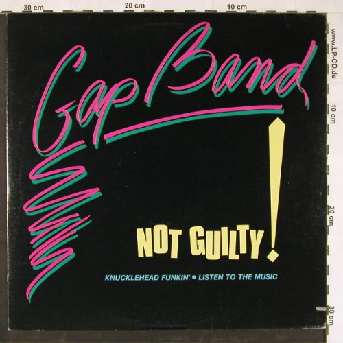 Gap Band: Not Guilty!,co, Passport(PB 4005), US, 1984 - 12inch - E1912 - 2,50 Euro