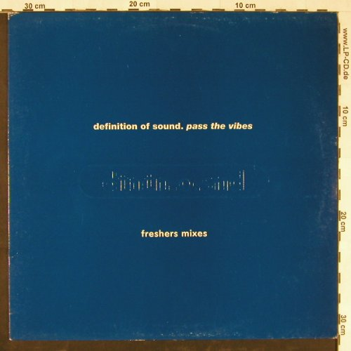 Defintion Of Sound: Pass The Vibes - Freshers Mix, Fontana(DSDJJ2), UK, 1995 - 12inch - E1926 - 2,50 Euro
