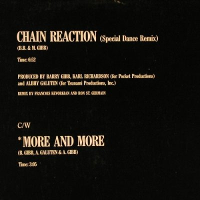 Ross,Diana: Chain Reaction(Sp.Dance Mix)+1, Capitol(20 0996 6), D, 1985 - 12inch - E2063 - 4,00 Euro