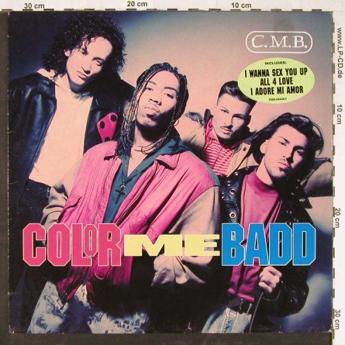 Color Me Badd: C.M.B., Giant(7599-24429-1), D, 1991 - LP - E2084 - 4,00 Euro