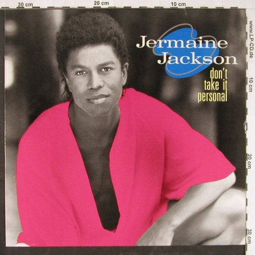 Jackson,Jermaine: Don't Take It Personal, Arista(210 230), D, 1989 - LP - E2128 - 5,00 Euro