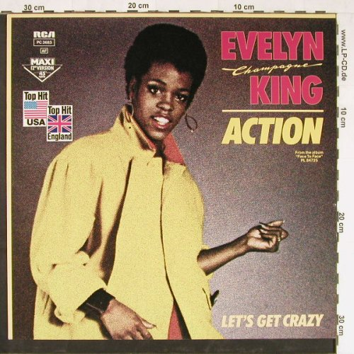 "King,Evelyn ""Champagne"": Action+1, RCA(pc 3683), D, 1983 - 12inch - E2228 - 1,50 Euro"