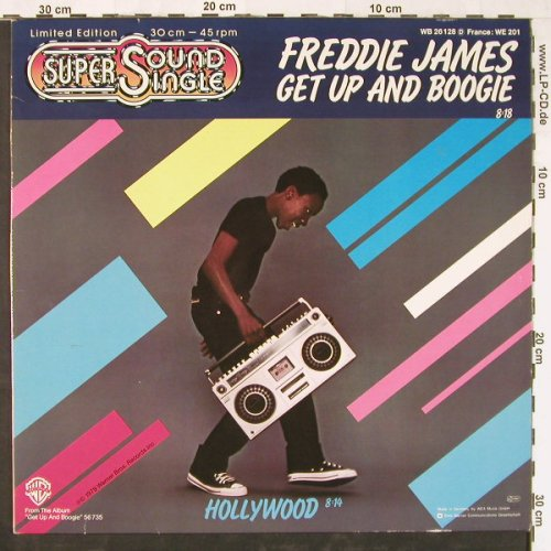 James,Freddie: Get Up And Boogie 8:18/Hollywood, WB(26 128), D, 1979 - 12inch - E2295 - 4,00 Euro