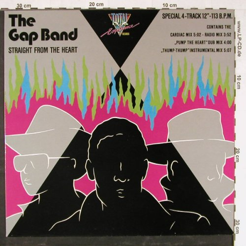 Gap Band: Straight fr.t.heart,sp.4Tr.(113bpm), Total Exp.(TE 20.01.01), D,  - 12inch - E2384 - 2,50 Euro