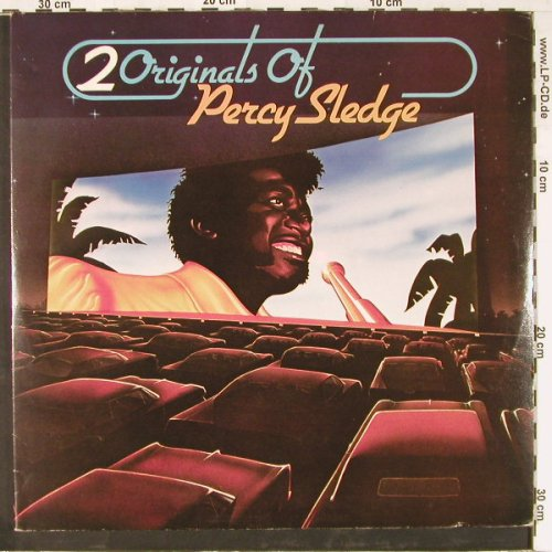 Sledge,Percy: 2 Originals Of, Foc, Atlantic(60 093), D, 1975 - 2LP - E2480 - 9,00 Euro