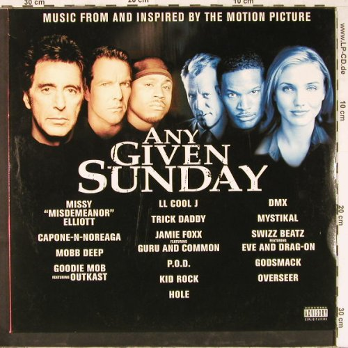 V.A.Any Given Sunday: 16 Tr., OST, Atlantic(7567-83272-1), D, 2000 - 2LP - E2543 - 7,50 Euro