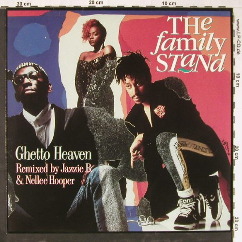 Family Stand: Ghetto Heaven(Remix)*3, Atlantic(7567-86212-0), D, 1990 - 12inch - E2921 - 1,50 Euro