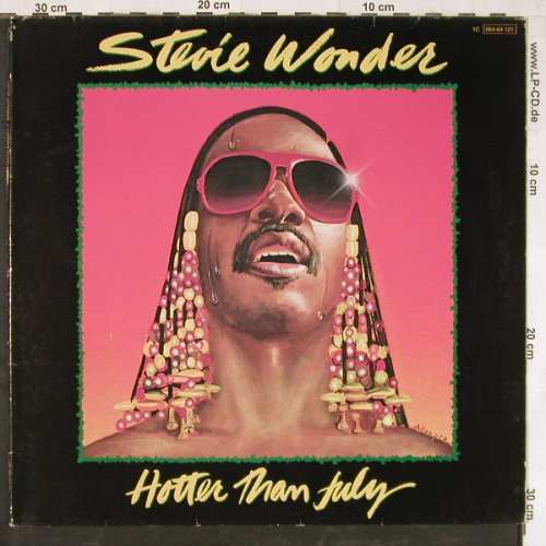 Wonder,Stevie: Hotter Than July,Foc(HappyBirthday), Motown(064-64 121), D, 1980 - LP - E3429 - 5,00 Euro
