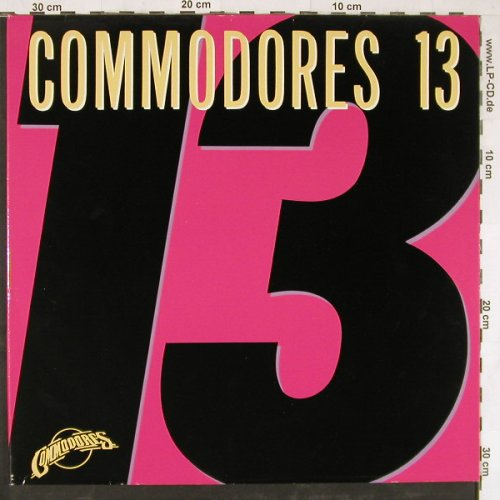 Commodores: 13, Foc, Motown(260 15 063), D, 1983 - LP - E3431 - 5,00 Euro