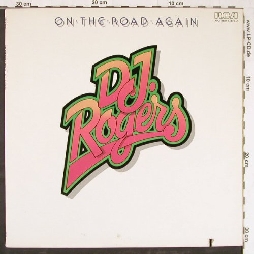 D.J.Rogers: On The Road Again, RCA(APL1-1697), US, co, 1976 - LP - E3492 - 6,00 Euro